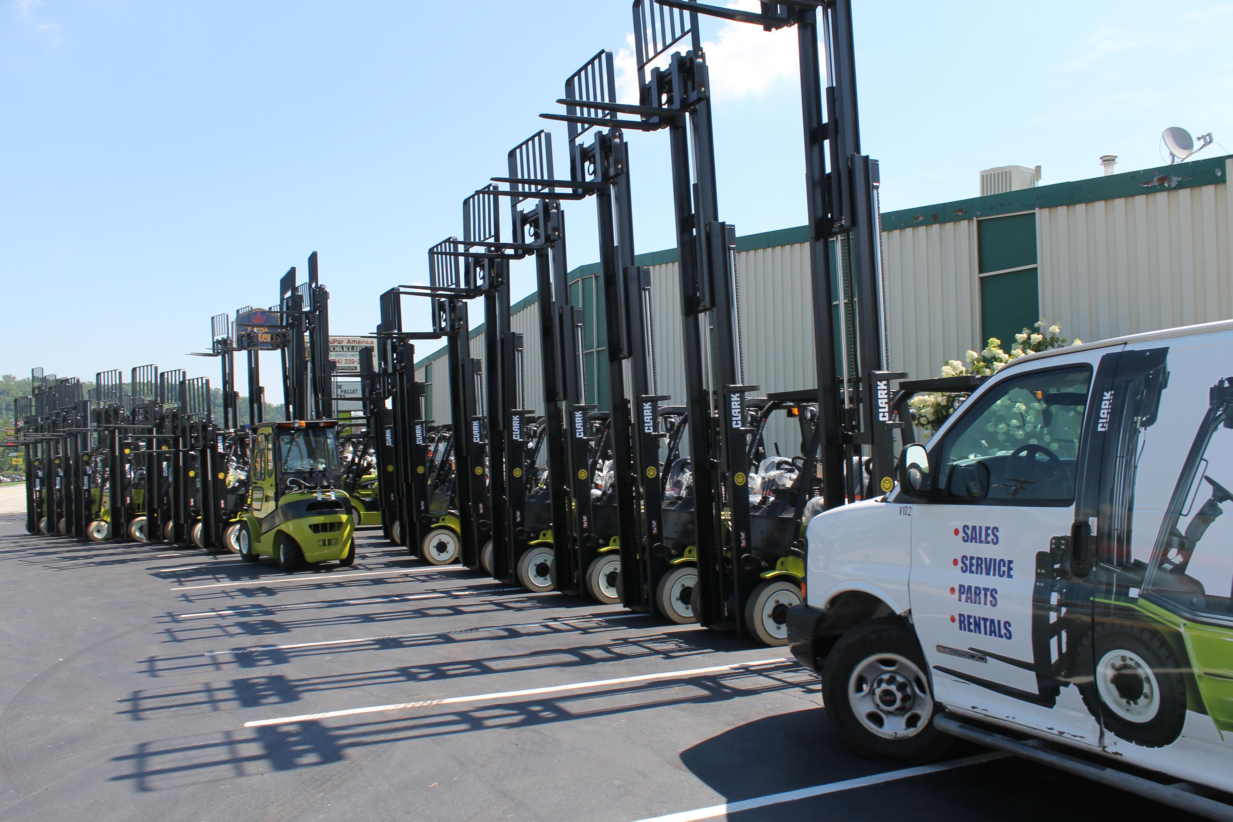 Pittsburgh Forklift Service, Sales, Rentals | Trupar America